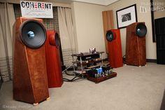 """Coherent Speakers photo """"empruntée"""" sur le site http://www.Magazine-audio.com"""