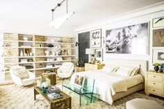 Owner and designer Shahan Minassian created the most palatial space that's eclectic and layered yet somehow minimal and refined at the same time.