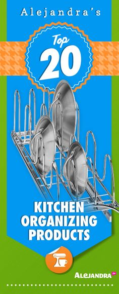 Top 20 Kitchen Organizing Products - www. Kitchen Organization Pantry, Home Organisation, Household Organization, Binder Organization, Kitchen Storage, Kitchen Decor, Organizing Tips, Kitchen Stuff, Good Housekeeping