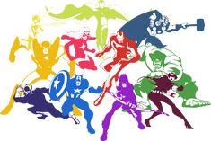 Avengers: Earth's Mightiest Heroes by on DeviantArt Marvel Dc, Marvel Avengers Assemble, Avengers Art, Barton Marvel, Clint Barton, Comic Books Art, Comic Art, Book Art, Avengers Earth's Mightiest Heroes