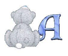 A-Z Alphabet - Tatty Teddy A
