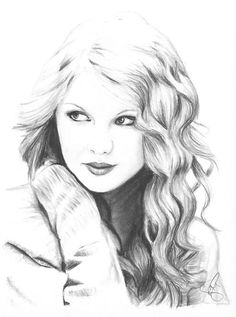Choose your favorite taylor swift drawings from millions of available designs. All taylor swift drawings ship within 48 hours and include a money-back guarantee. Ninjago Coloring Pages, People Coloring Pages, Coloring Pages For Girls, Sketches Of People, Drawing People, People Drawings, Amazing Drawings, Realistic Drawings, Taylor Swift Posters