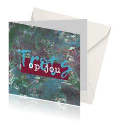 """Kaart van Koolmade, voor een knappe prestatie met tekst """"Trots op jou"""" Bijvoorbeeld bij een moedige beslissing, slagen van rijbewijs, diploma school of zwemmen, zwangerschap of andere knappe prestatie. Keep Calm, Cover, Artwork, School, Work Of Art, Stay Calm, Auguste Rodin Artwork, Relax, Artworks"""