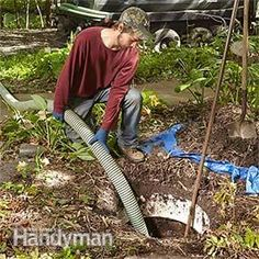 How Does a Septic Tank Work? (DIY) | Family Handyman Septic Tank Problems, Septic Tank Service, Sewer System, Solid Waste, Septic System, Laundry Hacks, Old Quotes, Big Money, Outdoor Power Equipment