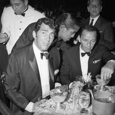 """The Rat Pack party boys, Frank Sinatra, Dean Martin and Sammy Davis, Jr., embodied an ethos of hard-drinking, fast-living, glamorous occasion-celebrating that was nearly Dionysian in its intensity. The era of their greatest tabloid fame coincided with the """"Mad Men"""" '50s into the '60s when, in retrospect, things seemed simpler and a particular kind of alcohol-fueled adult culture was captured in their antics. A Rat Pack party is a step back in time to slick, unapologe..."""