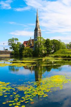 church at the Kastellet, Copenhagen