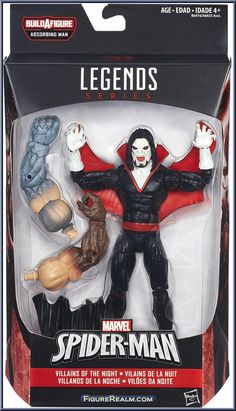 Morbius from Marvel Legends - Infinite Series - Absorbing Man Series manufactured by Hasbro [Front]
