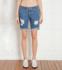 5 Celeb-Inspired Ways to Wear Denim Shorts This Weekend via @WhoWhatWear