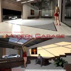 AJ Garagem Moderna