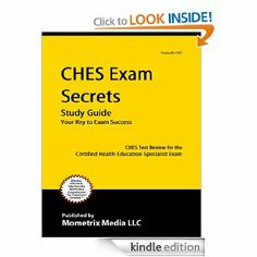 CHES Exam Study Guide - Pinterest