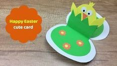 4 Awesome Easter Crafts To Do With Your Kids Easter Arts And Crafts, Easter Crafts For Toddlers, Bunny Crafts, Crafts For Kids To Make, Easter Crafts For Kids, Diy Ostern, Card Tricks, Easter Card, Origami
