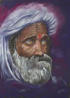 """"""" The wise person """" carried pastel The look of the wise person, of which does he think? Portrait of an old oriental man with a turban Portrait in the soft pastel on pastel card cm (except pass everywhere) Sold with a certificate of authenticity Les Oeuvres, Pastels, Oriental, Portraits, Inspiration, Drawings, Face, Painting, Etsy"""