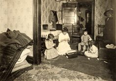 lewis hine photographs | Vintage Photos: Lewis Hine - Tenement Workers, ctd