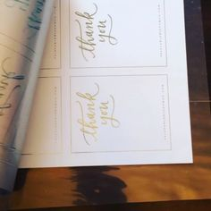 My favorite part of foiling? The reveal  #printablewisdom