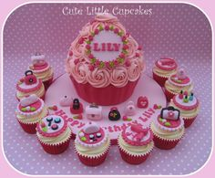 Ultimate 'Girlie' Giant Cupcake - by HeidiS @ CakesDecor.com - cake decorating website
