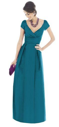 Alfred Sung Bridesmaid Dresses - Style D501 - Dupioni   Weddington Way    Weddington Way, $220