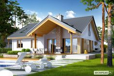 Zdjęcie projektu Simon energo plus Iron Doors, Home Fashion, Windows And Doors, Beautiful Homes, Gazebo, House Plans, Floor Plans, Farmhouse, House Design
