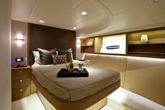 James Russ worked on this elite super yacht to create lighting with crisp finishes. Ekara is a stunning example of how James Russ can adapt to different environments to create exceptionally clean, functional lighting. Super Yachts, Motor Yachts, It Is Finished, Interior, Crisp, Furniture, Lighting, Create, Home Decor