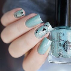 Love this double stamping!