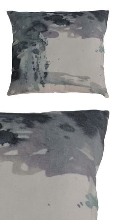 Update your couch with the power of abstract design. This luxe throw pillow features a cotton-velvet cover and a 100% feather insert. Made in India.  Find the Brixton Pillow, as seen in the Cemented Industrial Style Collection at http://dotandbo.com/collections/cemented-industrial-style?utm_source=pinterest&utm_medium=organic&db_sku=122640
