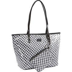 #Handbags, #ManmadeHandbags - Nine West Handbags Show Stopper Shopper Black Multi - Nine West Handbags Manmade Handbags