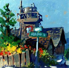 Charles Sovek, Artist and Author   Favorites - Oil Paintings
