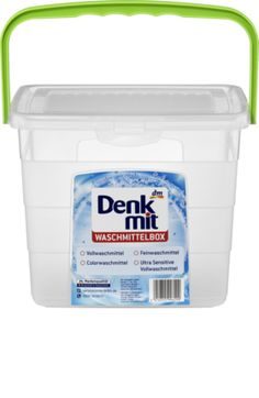 Die praktische Denkmit Nachfüllbox ist als Aufbewahrungsort für Pulverwaschmittel vorgesehen. Die Box ist aber auch für andere Zwecke vielseitig verwendbar...