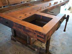 A Flip-top Workbench | Lost Art Press
