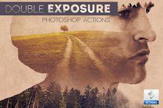 Double Exposure Photoshop Creator by psddude on Creative Market
