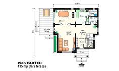 Admiram in cele ce urmeaza trei proiecte de case frumoase, pe un nivel sau doua, care ne capteaza atentia gratie arhitecturii deosebite, pe alocuri cu iz de poveste. Sunt case care cu siguranta vor rupe Beautiful House Plans, Beautiful Homes, Tree Bedroom, Design Case, Floor Plans, How To Plan, Houses, Bedrooms, Two Story Houses