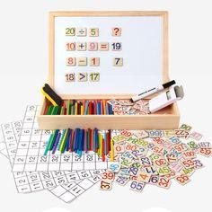Montessori Öğretim Materyalleri Yardımcıları Matematik Oyuncaklar Matematik Hesaplama Moğolistan 1-100 Dijital Bulmacalar WD40-3 (2)(China (Mainland))