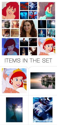 """""""♔Disney Dream Cast: JoAnna Garcia Swisher As Ariel♔"""" by once-upon-a-peytenn ❤ liked on Polyvore featuring art"""