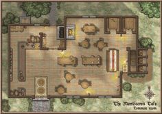 ProFantasy Community Forum - The Manticore's Tale (Tavern) - Renovations complete!