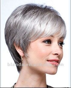 short hairstyles for women with salt & pepper hair - Google Search