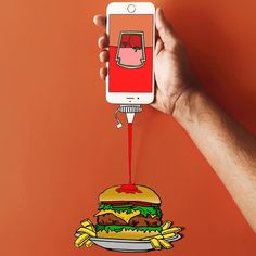 Pin by jake moore on illustration сюрреализм, реклама, картинки. Food Poster Design, Ad Design, Creative Advertising, Advertising Design, Advertising Ideas, Graphic Design Inspiration, Creative Inspiration, Food Inspiration, Recycled Crafts