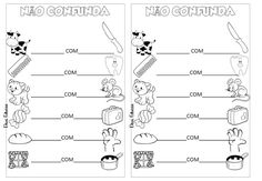 Atividades para Alfabetização - Troca Letra - 2º ANO