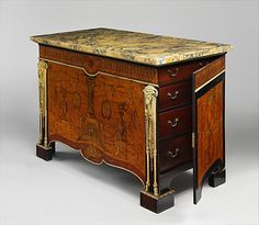Commode Attributed to John Mayhew (English, 1736–1811) Maker: Attributed to William Ince (British, active ca. 1758/59–1794, died 1804) Date: ca. 1770–80
