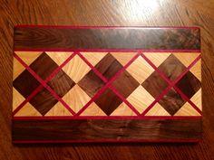 Argyle cutting board