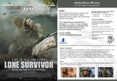 We are giving 5 lucky winners a chance to win pair of invites to the premiere of 'Lone Survivor' at Grand Cineplex, near Grand Hyatt Hotel on 28th January. Simply share the post 'Lone Survivor | Premiere' on our facebook page and answer the following question in comments of the same post, and you could win 2 invites, courtesy of Italia Film.