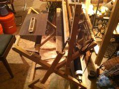 homemade folding loom | Flickr - Photo Sharing!