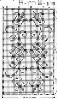 @nika Cross Stitch Patterns Free Disney, Cross Stitch Borders, Crochet Borders, Crochet Chart, Cross Stitch Flowers, Crochet Stitches, Cross Stitch Bookmarks, Crochet Bookmarks, Cross Stitch Embroidery