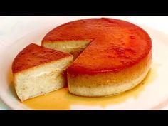 Μόνο γάλα, αυγά και μπανάνες, χωρίς φούρνο, χωρίς αλεύρι! # 408 - YouTube Flan Dessert, Custard Desserts, Custard Cake, No Cook Desserts, Easy Desserts, Delicious Desserts, Cooking Cake, Easy Cooking, Baking Recipes