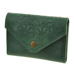 Leather womens cardholder business card holder green card case by leather womens cardholder business card holder green card case by dekolie on etsy colourmoves
