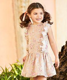 Floral print ruffle dress Dresses Girl Kids (2-6 years) | LANIDOR.COM - Mobile Shop Online