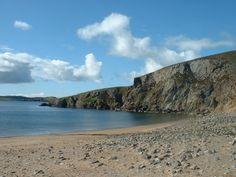 Muckle Ayre Beach, Muckle Roe, Shetland.