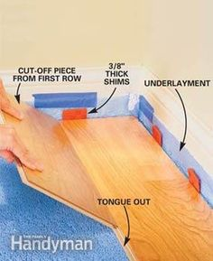 How to Install a Snap-Together Wood Floor