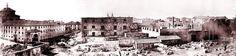 Convento de Maravillas y ruinas del Parque de Artillería de Monteleón en 1868