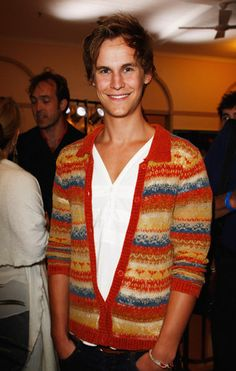 Rhys Wakefield in what has to be the cutest sweater ever!