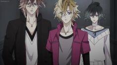 Yuma, Kou, and Azusa Mukami - Diabolik Lovers season 2, More Blood. ❤