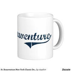 St. Bonaventure New York Classic Design Classic White Coffee Mug